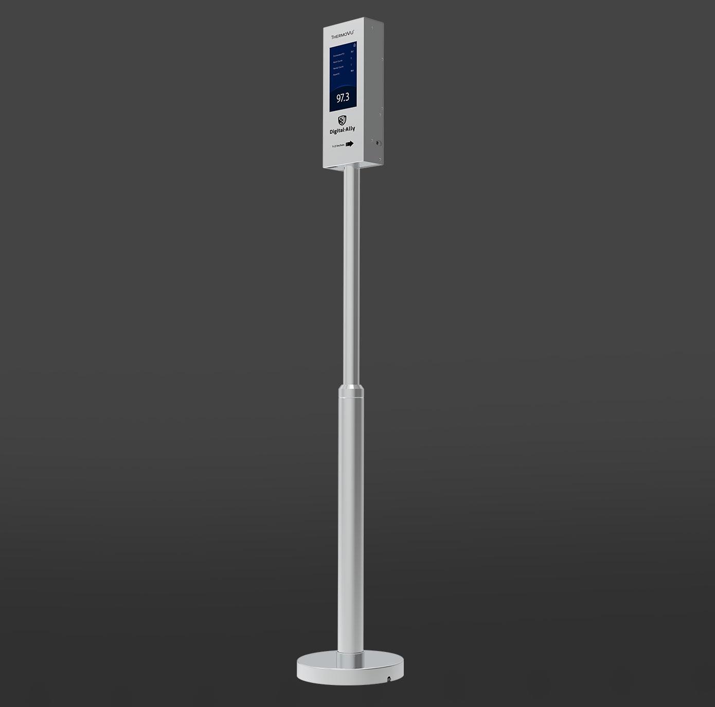 ThermoVu Pole-Mounted Body Thermometer
